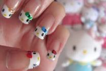 Manicure Hello Kitty