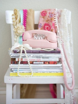 Landlines princess phone