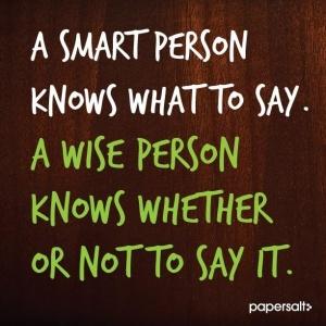 Smart person