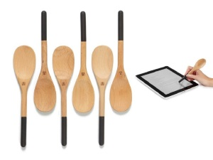 Umbra spoon with stylus