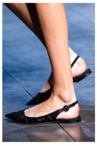 Dolce-Gabbana-sling back flat