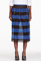 marc-jacobs-black-blue-striped-eyelet-overlay-skirt