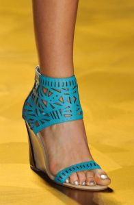 Nicle Miller perforated wedge