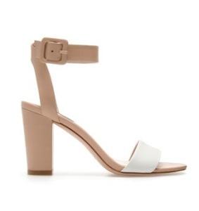 Zara chunky heel