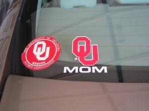 OU sticker