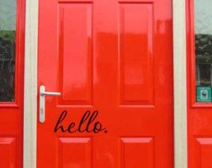 door hello