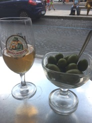 beer and olives good