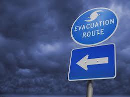 evacuation route