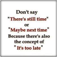 XToo late