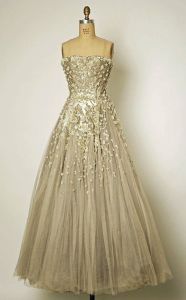 dress vintage dior