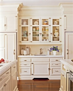 kitchen cabinets like furniture