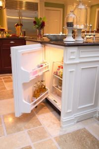 kitchen mini fridge