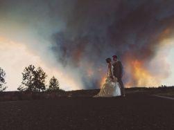 Wedding - fire by Josh Newton