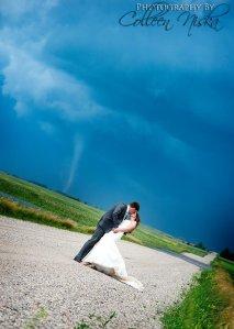 Wedding - tornado