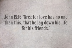 Friends bible verse