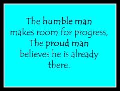 Proud man