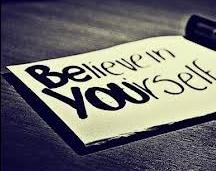 Believe and Be Yourself