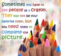 people are crayons