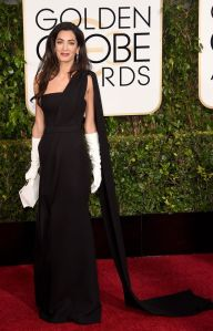 Amal in gloves