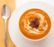 Sweet potato soup chipotle