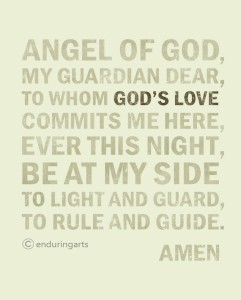 Guardian angel prayers