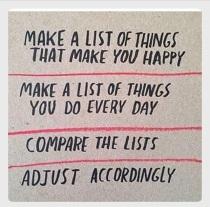 XMake a list