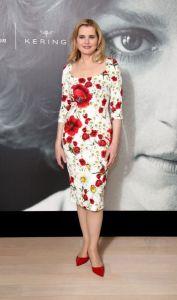 Geena Davis in Dolce & Gabbana