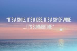 Summertime quote