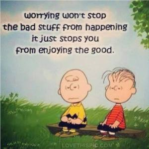 Worry Charlie Brown