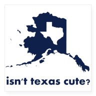 isnt_texas_cute_compared_to_alaska_sticker