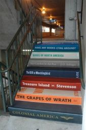 books-steps