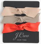 JCrew hair ties1