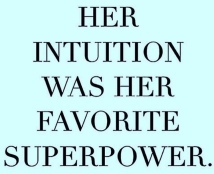 Intuition is superpower