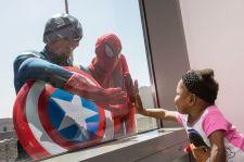 Super hero window washers