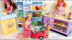Grocery store Barbie