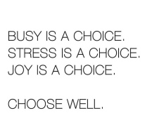 XChoose wisely
